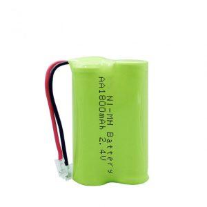 NiMH रिचार्जेबल बैटरी AA1800mAh 2.4V