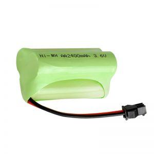 NiMH रिचार्जेबल बैटरी AA2400 3.6V