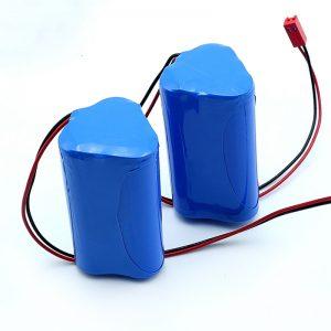 चिकित्सा उपकरण के लिए रिचार्जेबल ली-आयन 3S1P 18650 10.8v 2250mah लिथियम आयन बैटरी पैक