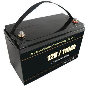लीड एसिड रिप्लेसमेंट सोलर स्टोरेज बैटरी 12V 110Ah lifepo4 लिथियम बैटरी