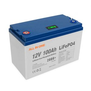 ऑल इन वन हॉट सेल्स एनर्जी सोलर लिथियम बैटरी स्टोरेज सॉफ्टवेयर BMS कंट्रोल रिचार्जेबल डीप साइकिल 12V 100Ah LiFePO4 बैटरी