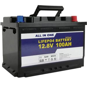 जीईएल/एजीएम प्रतिस्थापन सौर ऊर्जा भंडारण बैटरी 12v 100ah LifePo4 लिथियम आयन बैटरी
