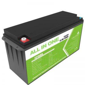होम सोलर स्टोरेज के लिए बड़ी क्षमता 12.8v 150ah लिथियम बैटरी