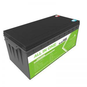 गोल्फ कार्ट के लिए लॉन्ग लाइफ रिचार्जेबल बैकअप पावर 12.8v 200ah LiFePO4 बैटरी