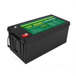 सभी में एक लिथियम आयन बैटरी डीप साइकिल 12v 300Ah LiFePo4 स्टोरेज बैटरी