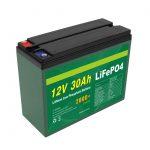 ओईएम बैटरी रिचार्जेबल 12 वी 30 एएच 4 एस 5 पी लिथियम 2000+ डीप साइकिल लाइफपो 4 सेल निर्माता