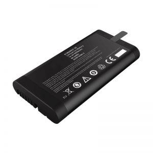 14.4V 6600mAh 18650 लिथियम आयन बैटरी पैनासोनिक बैटरी SMBUS संचार पोर्ट के साथ नेटवर्क परीक्षक के लिए