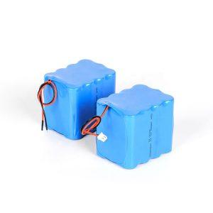 अनुकूलित रिचार्जेबल लिथियम बैटरी 18650 उच्च निर्वहन 3s4p 12v ली आयन बैटरी पैक
