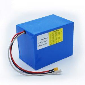 इलेक्ट्रिक बाइक और ई बाइक किट के लिए लिथियम बैटरी 18650 48V 20.8AH