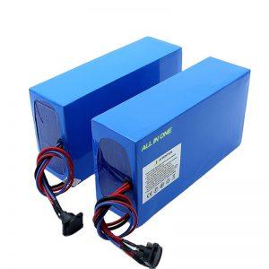 सभी में एक सेल 13S7P 18650 48v 20.3ah इलेक्ट्रिक साइकिल बैटरी