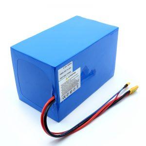 लिथियम स्कूटर 18650 48V 51.2AH 24V 30V 60V 15ah 20Ah 50Ah Li-ion बैटरी 18650 48V लिथियम आयन बैटरी पैक इलेक्ट्रिक स्कूटर के लिए