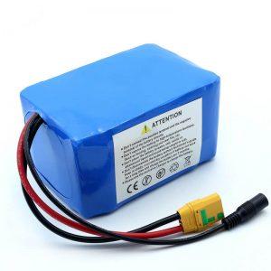 शीर्ष गुणवत्ता ODM ई-बाइक 14s2p 52v 7ah अल्ट्रा स्लिम रियर रैक बैटरी पैक