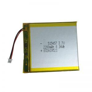 स्मार्ट होम उपकरणों के लिए 3.7V 2200mAh पॉलिमर लिथियम बैटरी