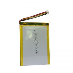 516285 3.7V 4200mAh स्मार्ट होम इंस्ट्रूमेंट पॉलिमर लिथियम बैटरी