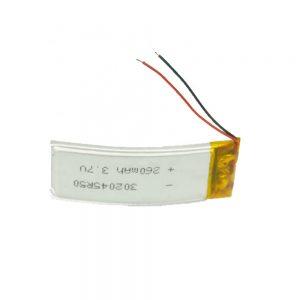 LiPO अनुकूलित बैटरी 302045 3.7V 260mAh