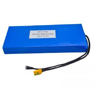 इलेक्ट्रिक स्कूटर के लिए थोक 15Ah 48V लिथियम बैटरी