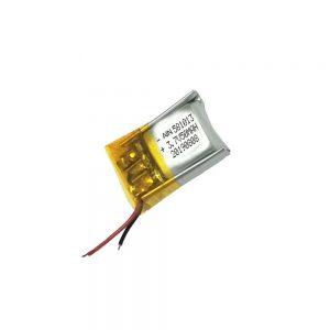 उच्च गुणवत्ता लिथियम बहुलक बैटरी 3.7V 50mAh 581013 बैटरी