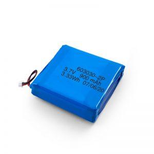 कस्टम रिचार्जेबल 3.7 वी 450 530 550 700 750 800 900 एमएएच ली-पो लिपो बैटरी