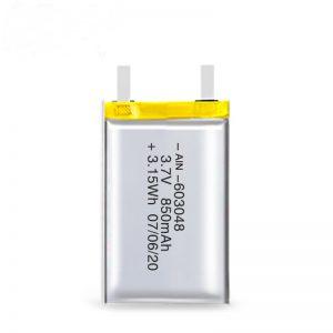 LiPO Rechargeable बैटरी 603048 3.7V 850mAh / 3.7V 1700mAH / 7.4V 850mAH