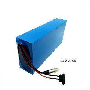 अनुकूलित रिचार्ज बैटरी पैक 60v 20ah EV बैटरी लिथियम