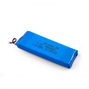 LiPO Rechargeable बैटरी 651648 3.7V 460mAh / 3.7V 920mAH / 7.4V 460mAH