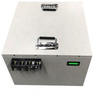 अप के लिए 10 KWH सोलर बैटरी बैंक Lifepo4 बैटरी 48v 200ah लिथियम बैटरी
