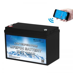 कम तापमान LiFePO4 बैटरी 12V 100AH