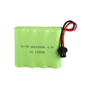 NiMH रिचार्जेबल बैटरी AA2400mAH 4.8V