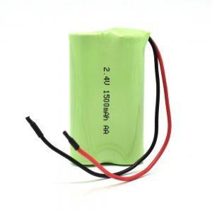 NiMH रिचार्जेबल बैटरी AA1500mAh 2.4V