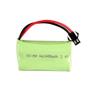 NiMH रिचार्जेबल बैटरी AA2400mAH 2.4V