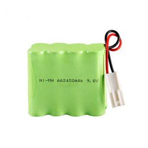 NiMH रिचार्जेबल बैटरी AA2400 9.6V