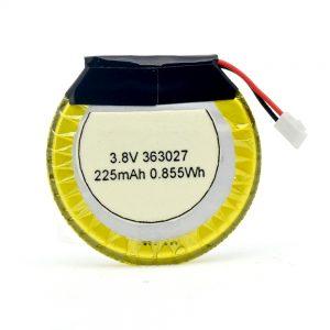 LiPO अनुकूलित बैटरी 363027 3.7V 225mAH