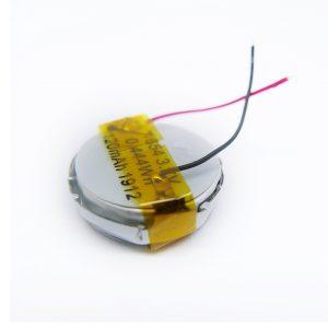 LiPO अनुकूलित बैटरी 1654 3.7V 120mAh