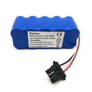 वैक्यूम क्लीनर TEC-5500, TEC-5521, TEC-5531, TEC-7621, TEC-7631 के लिए 12 v नी-एमएच बैटरी
